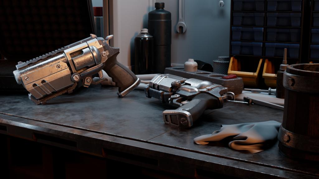 Bulldog Revolver (WIP)